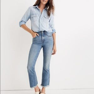 Madewell Cali Demi-Boot Jeans in Comfort Stretch